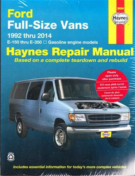 car repair manuals online free 1994 ford econoline e350 free book repair manuals service manual online auto repair manual 1992 ford econoline e350 security system service
