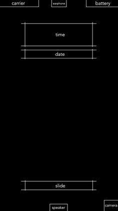 iphone layout lock iphone 6 plus lock screen wallpaper minimal gray with