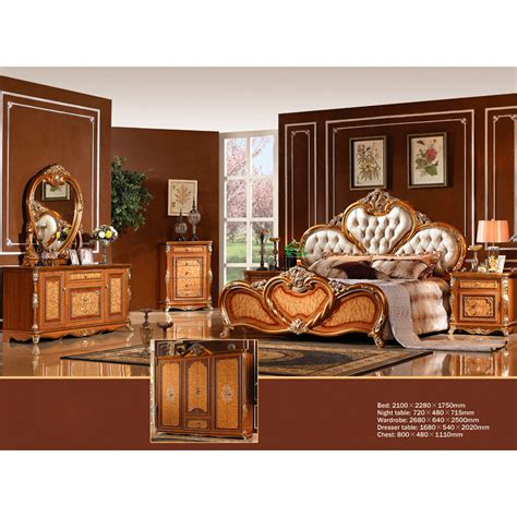 chinese bedroom set chinese antique bedroom furniture with fabric bedhead yf
