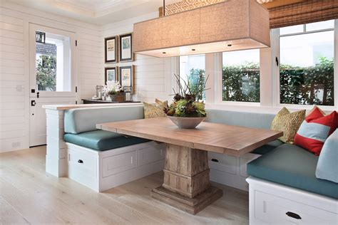 Breakfast nook ideas living room traditional with eat in kitchen booth