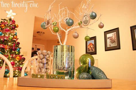 Dining Room Table Centerpiece Ideas Pinterest by Christmas Decor Part Three Centerpiece Amp Vignette