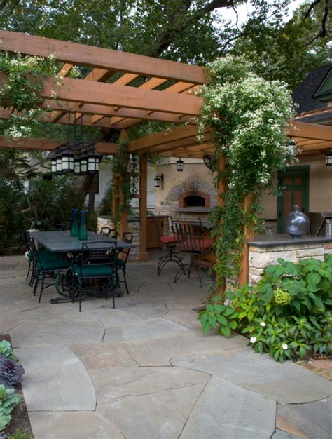 outdoor pizza oven craftsman patio chicago by