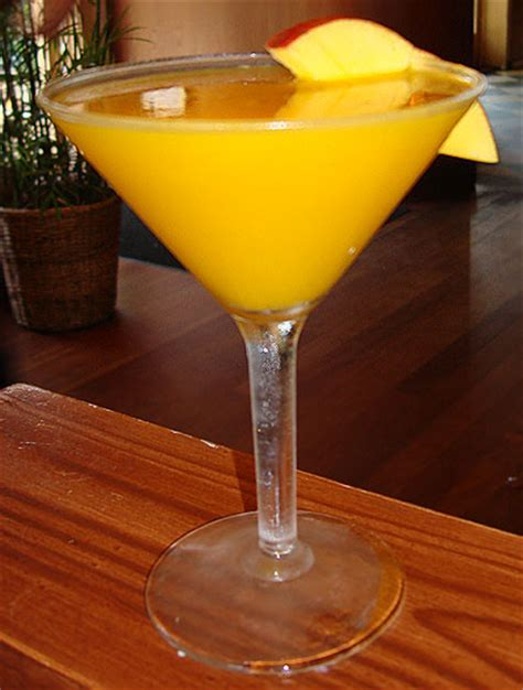 martini mango mango martini food and wine recipes
