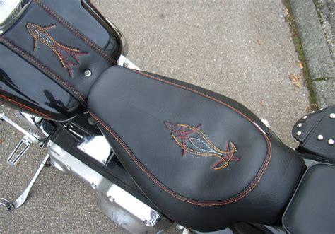 Motorrad Sozius Mitnehmen by Custom Seats 174 Lederarbeiten Custom Motorradsitzb 228 Nke