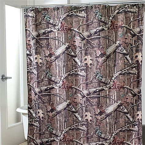 mossy oak curtains buy avanti mossy oak shower curtain from bed bath beyond