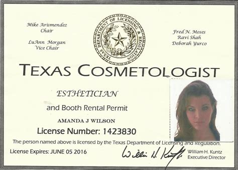 Cosmetology Requirements by Contact Us