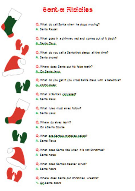 xmas riddles images reverse search