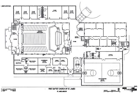 building plans images church