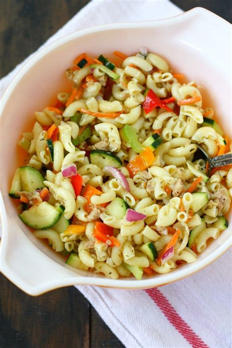 easy salad recipe simple pasta salad recipes