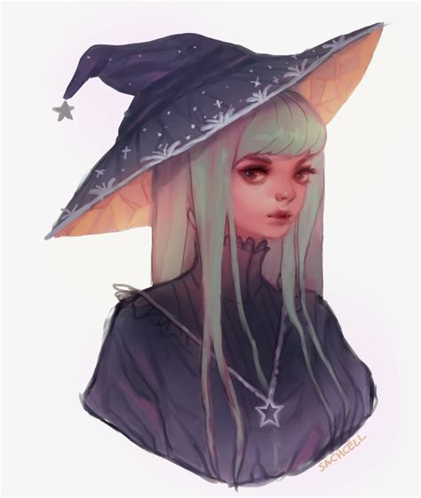 doodle witch hat witch doodle by sachcell on deviantart