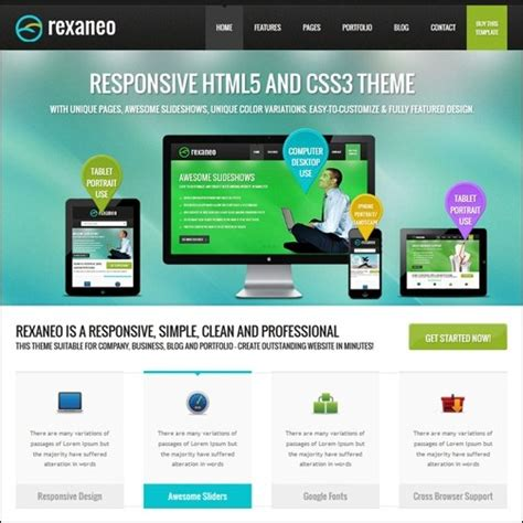 40 High Quality Business Website Templates Free Professional Business Website Templates
