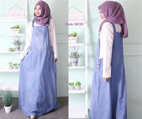 Puspita Overall overall rok a line w230 baju style ootd