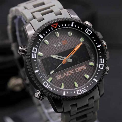 Tactical 5 11 Beast Black jual jam tangan tctical 5 11 black ops