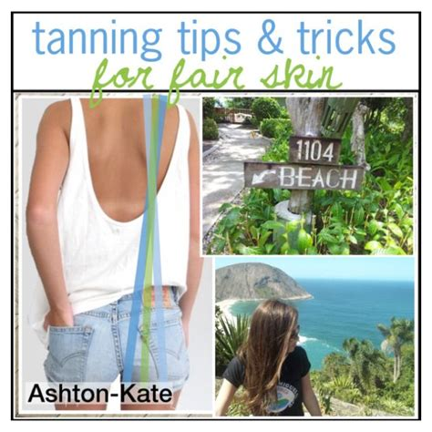 tanning bed tips and tricks tanning tips and tricks for fair skin ashton kate 7