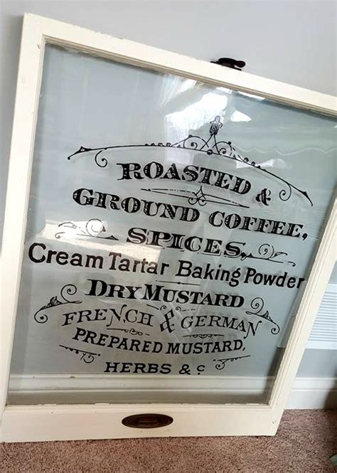 diy vintage window signs reader feature  graphics fairy