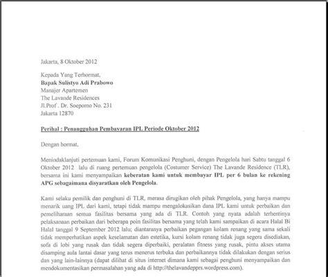 petisi penangguhan pembayaran ipl transparansi pppsrs