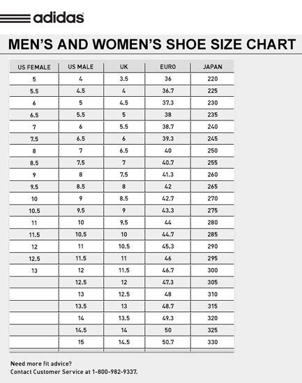 adidas samoa shoes size chart adidas shoes shoe size chart adidas shoes