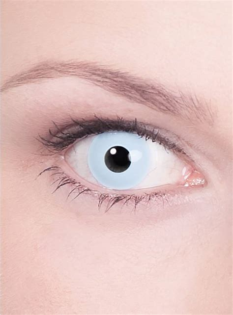 Light Blue Contacts by Prescription Contact Lens Light Blue