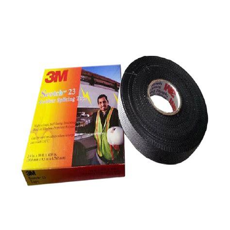 jual 3m isolasi listrik scotch 23 rubber splicing