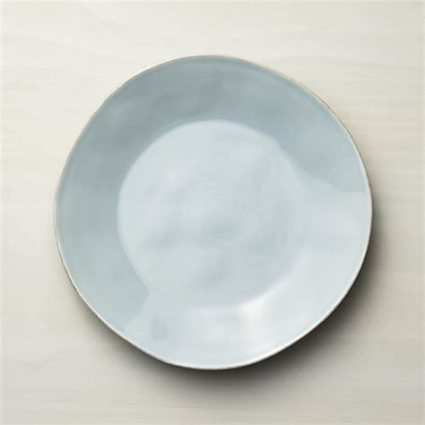 dinner tableware marin blue dinner plate crate and barrel