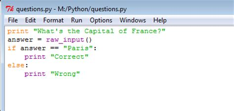 python tutorial questions learn python tony ballantyne tech