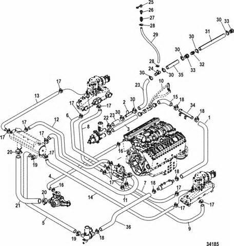 350 mercruiser alpha engine diagram get free image about wiring diagram
