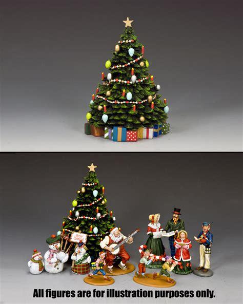 christmas tree w christmas present king country
