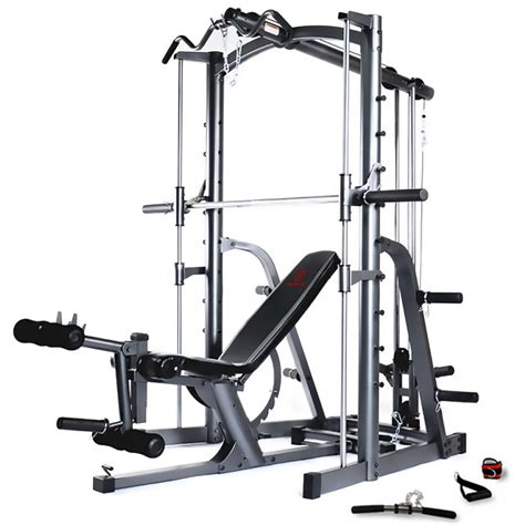 bench in gym marcy mwb1282 smith machine chest press gym and adjustable