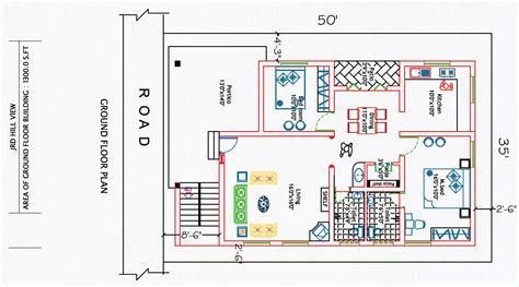 2bhk floor plan 2 bhk house plan house and home design