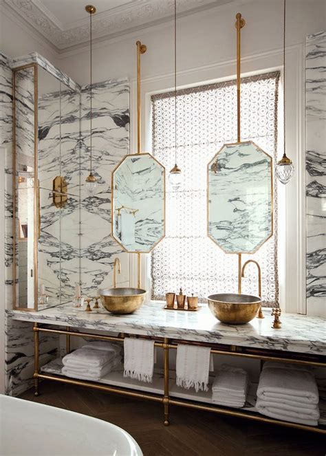 used bathroom fixtures 18 gorgeous marble bathrooms with brass gold fixtures