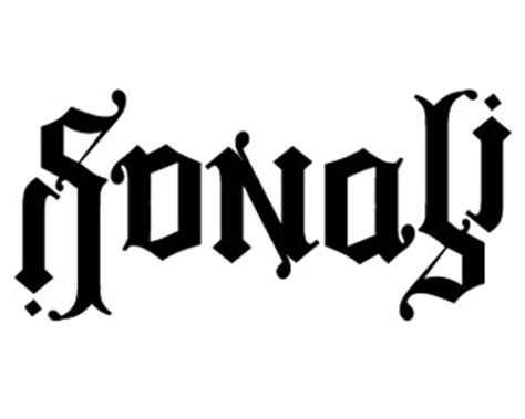 Tattoo Name Sonali   a clever collection of 40 inspiring ambigrams