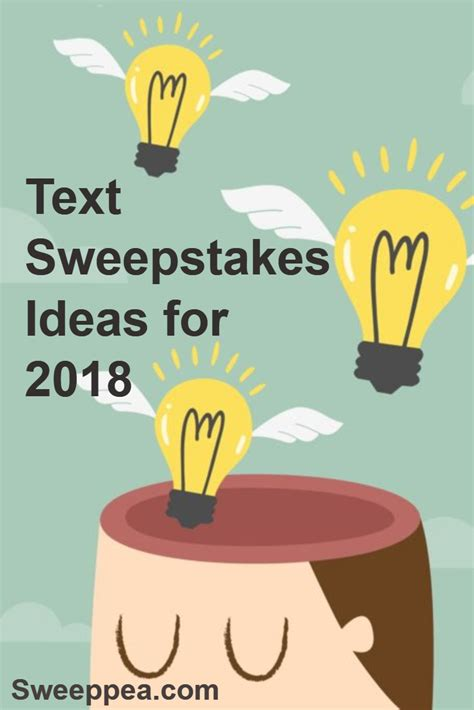 Contests Vs Sweepstakes - text to win text to win sweepstakes sweeppea blog