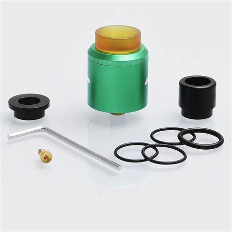 Authentic Rda Druga 24 24 99 authentic augvape druga rda green 24mm rebuildable atomizer