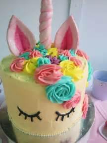hermosas tortas de unicornios todo bonito