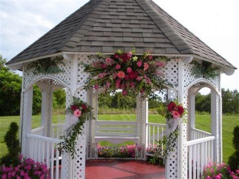 memorable wedding decorated wedding gazebo a wedding to