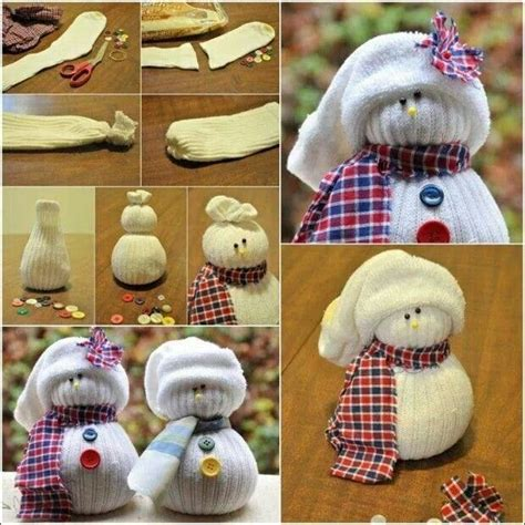 sock snowman how to make them how to make a sock snowman winter