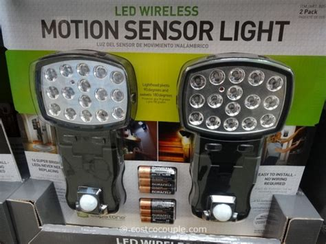 costco motion sensor light winplus capstone led motion sensor light