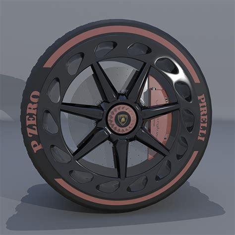 Q 20 Wheels Lamborghini Veneno wheel lamborghini veneno by saiful22 3docean
