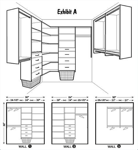 Closet Layout Diy Closet Organizer