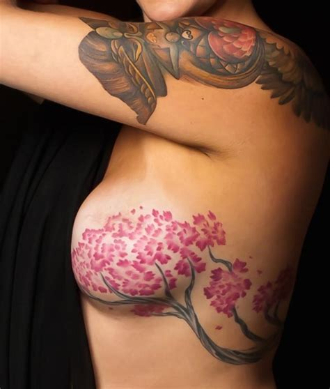 tattoo nipple reduction breast cancer survivor turns scars into beautiful tattoos