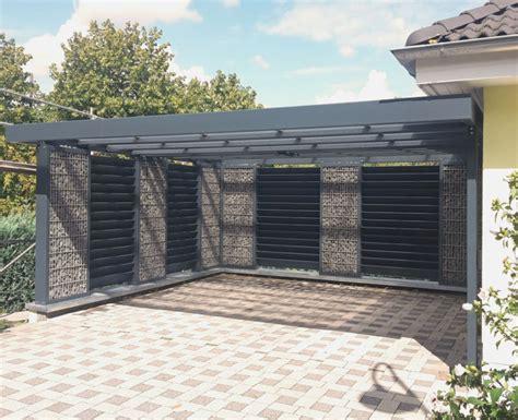 geschlossener carport vorgarten gestalten mit carport modern treefunder co