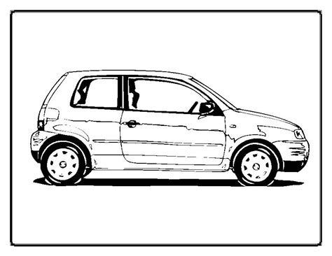 Cars Coloring Pages Moms Who Think Pictures Of Cars To Color