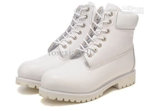 new white high top leisure boots