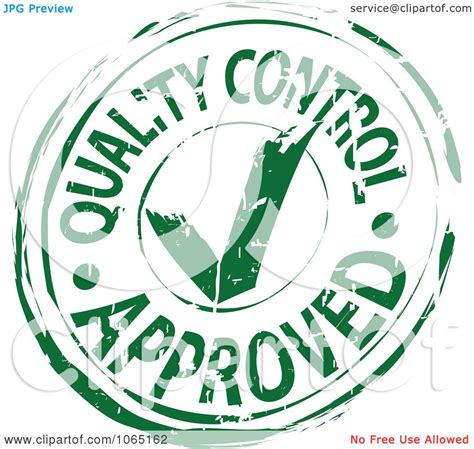 quality clipart clipart green quality approved st royalty