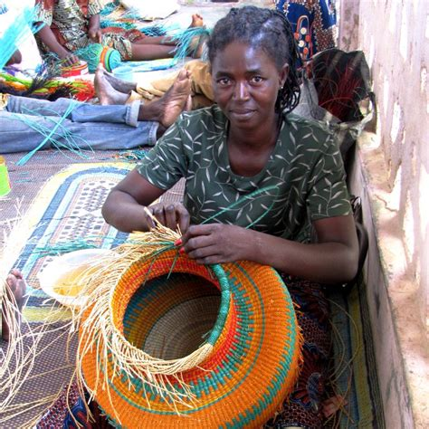 weaving for nigeria ladies fair trade bolga baskets from ghana