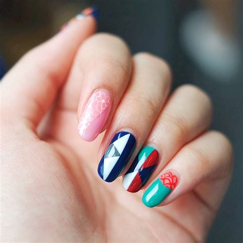 3d Nails by 3d Nails Japanese Print Inspired Nails Musings By
