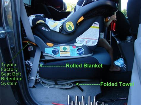 toddler booster seat for bench how i got 4 quot of room with a rear facing infant car