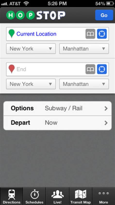 Hopstop Subway Directions Now Available For Your Phone by Hopstop Transit Directions For Iphone