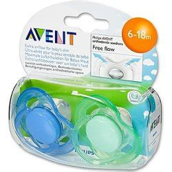 Philips Avent Soother 6 18m Single Free Flow Blue freeflow soother 6 18m pack singapore baby club