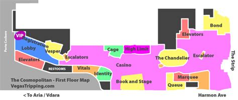 Wynn Las Vegas Floor Plan by Reverse Engineering The Cosmopolitan Property Map